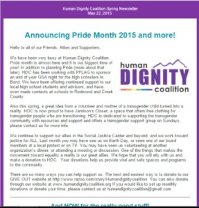 HDC Newsletter